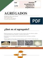 AGREGADOS diapositiva