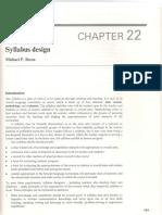 Syllabus Design (Breen)