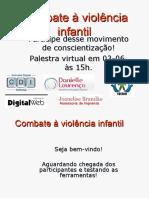 combate a violencia infantil.ppt