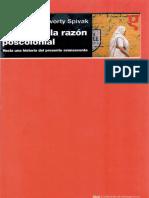 critica a la razón poscolonial -Spivak.pdf