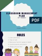 crowell gemma  - classroom management plan slide