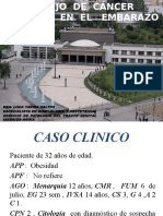 MANEJO DEL CANCER DE CERVIX EN EL EMBARAZO. FCM.pptx