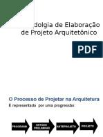 Metodoliga de Elaboração de Projeto Arquitetonico.ppt