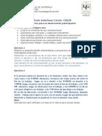 Ejercicio de Directrices Para La Observación Participante