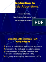 Genetic Algorithm MIT Presentation