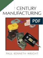 Manufactura Para El Siglo 21 Extracto Unidad I