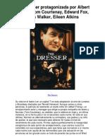 The Dresser Protagonizada Por Albert Finney Tom Co - 5 Estrellas Revisión