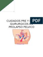 CUIDADOS PRE Y POST QUIRURGICOS EN PROLAPSO PELVICO.docx