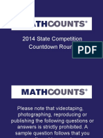 02 State Countdown 2014 Final