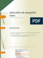 Vasculitis de Pequeño Vaso
