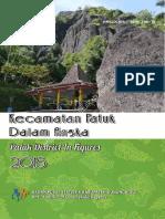 Kecamatan Patuk Dalam Angka 2015