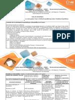 Guia de Actividades y Rubrica de Evaluacion Fase 2 y 3
