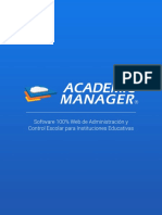 Brochure Academic Manager