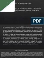 Presentación Avance de Investigacion II Tesis ADORNO