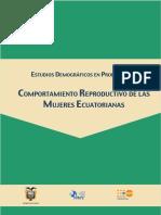 Comportamiento Reproductivo de Las Mujeres Ecuatorianas