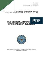 Standards DoD Minimum Antiterrorism Standards for Buildings