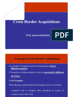 Lecture 2 - Cross Border Acqusition
