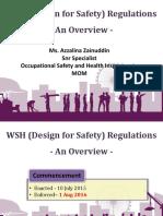 MOM_WSH (Design for Safety) Regulations