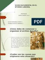 Organizacion Ducumental en El Entorno Laboral