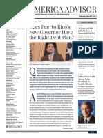 Latin - American Advisor article on PROMESA