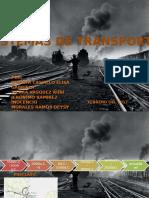 Sistemas de Transporte. Historia.