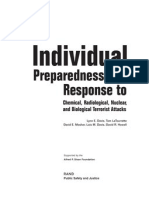 Individual Preparedness and Response to NBC and Biological Terrorist Attacks 2003