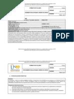Syllabus Cálculo Diferencial 100410_2017_1