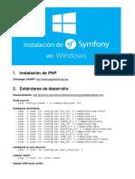 Installing Symfony2 Windows