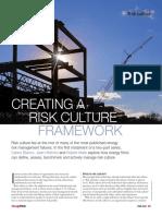 Creating Risk Culture a Framework