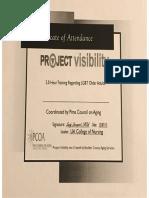 project visability