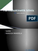 Farmakokinetik vancomicin