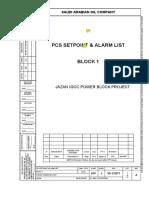 A10 J SCH VD 132971 Alarm List
