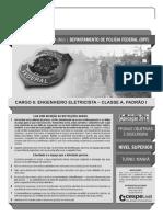 Cespe 2014 Policia Federal Engenheiro Eletricista Prova