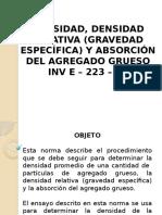 Presentación NORMA INV 223 13