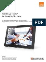 IGCSE Business studies-2017-2019-syllabus