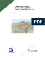 Namdeb ORM LOM - Hydrogeological Study Report