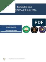 12 to Aipki Regio Malang