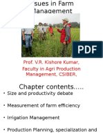 Ch 5 Issues in Farm Management