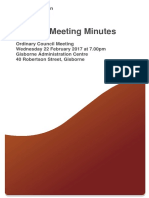 Ordinary Council Meeting 2017-02-22 Minutes