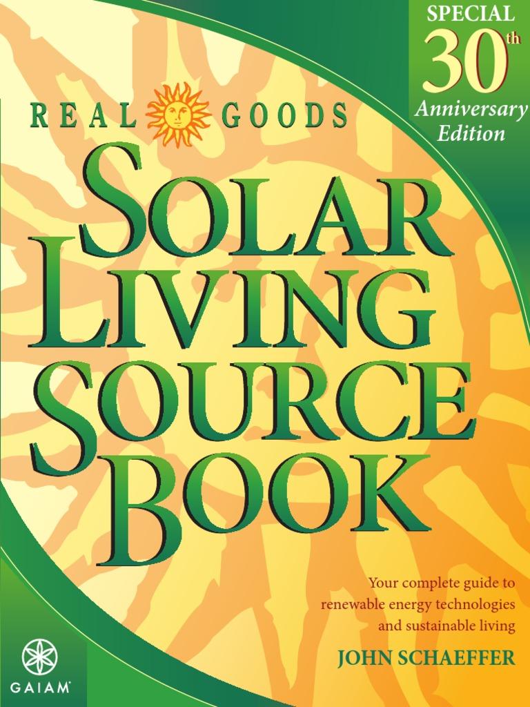 Real goods solar living sourcebook pdf