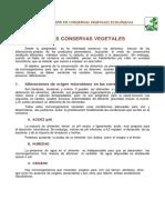 Documento Taller Conservas Ecovalle 2013