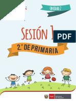 Segunda Unidad - Sesion 1 Educacion Fisica