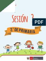 Primera Unidad - Sesion 3 Educacion Fisica