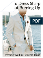 How to Dress Sharp Without Burning Up