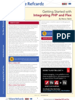 PHP AND FLEX