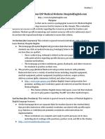 criticalevaluationespmedicalwebsite