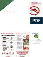 Leaflet Waspada Demam Berdarah Dengue