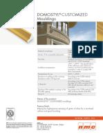 Domostyl Customized Mouldings en 11072012