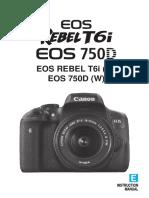Eos Rebelt6i 750d Im En