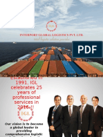 International, National, Local Freight, Shipping 3PL Logistics & Transport - IGL